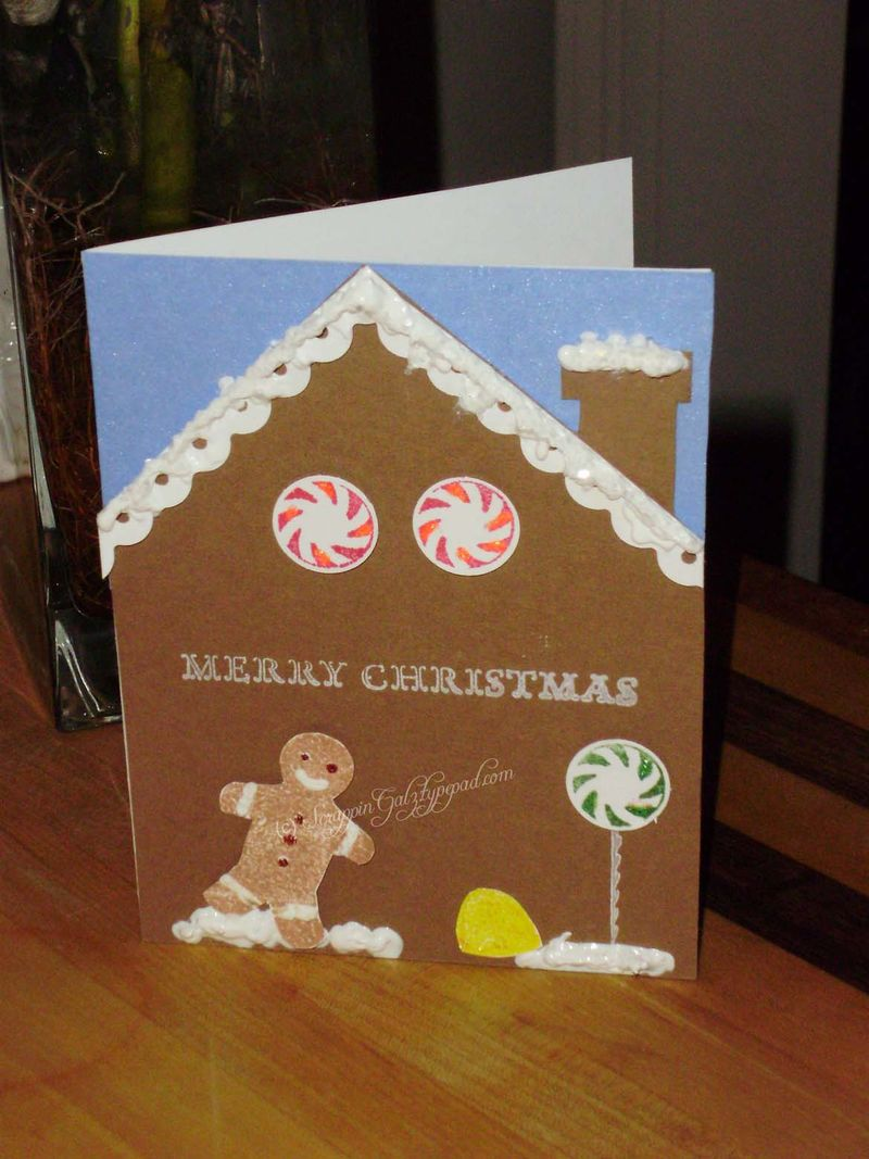 Sweet holiday 2nd card