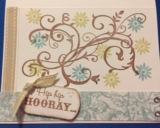 Card hip hip hooray